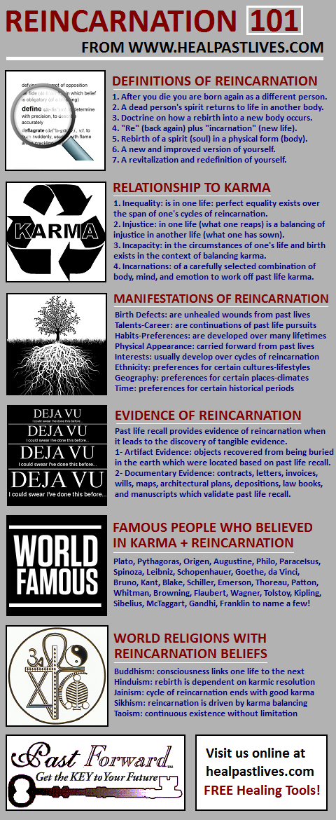 Past forward food for thought infographic gallery 3 infographic what happens when you die 4 infographic from the old life to the new life 5 infographic all about karmic cycles fandeluxe Image collections